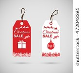 christmas discounts. christmas... | Shutterstock .eps vector #472043365