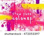 flyer template or invitation... | Shutterstock .eps vector #472053397