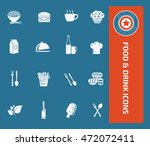 food icon drink icon set vector | Shutterstock .eps vector #472072411