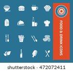 food icon drink icon set vector | Shutterstock .eps vector #472072411