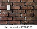 Grunge Styled Brick Wall...