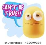 3d rendering sad character... | Shutterstock . vector #472099339