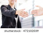 businesswoman going to make... | Shutterstock . vector #472102039