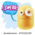 3d rendering sad character... | Shutterstock . vector #472102159