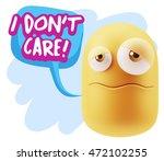 3d rendering sad character... | Shutterstock . vector #472102255