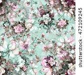 watercolor seamless pattern... | Shutterstock . vector #472109245
