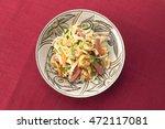 fu chanpuru  okinawan cuisine | Shutterstock . vector #472117081