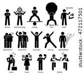 positive personalities... | Shutterstock . vector #472117501
