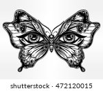 beautiful butterfly wings with... | Shutterstock .eps vector #472120015