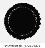 grunge round shape.grunge... | Shutterstock .eps vector #472124371