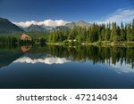 Beautiful Lake In High Tatras ...