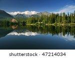 Beautiful Lake In High Tatras ...