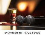 closeup photo in a bar where... | Shutterstock . vector #472151401