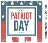 patriot day. banner | Shutterstock .eps vector #472154785