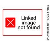 vector illustration error   Shutterstock .eps vector #472157881