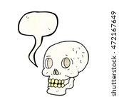 freehand speech bubble textured ... | Shutterstock . vector #472167649