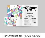 annual report brochure template ... | Shutterstock .eps vector #472173709