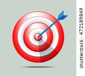target vector illustration | Shutterstock .eps vector #472189849