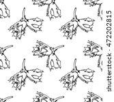 hazelnut seamless pattern.... | Shutterstock .eps vector #472202815