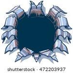 this vector cartoon clip art... | Shutterstock .eps vector #472203937