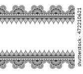 border seamless pattern...   Shutterstock . vector #472210621
