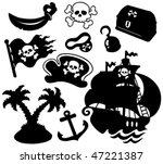 Pirate Silhouettes Collection ...