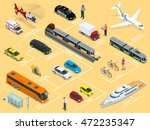 flat 3d isometric high quality... | Shutterstock .eps vector #472235347