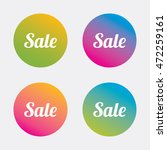 sale sign icon. special offer... | Shutterstock .eps vector #472259161