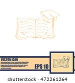 book vector icon | Shutterstock .eps vector #472261264