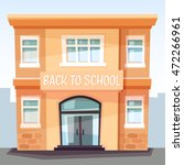 back to school. the school... | Shutterstock .eps vector #472266961