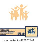 family vector icon | Shutterstock .eps vector #472267741