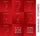 week days astrology signs moon...