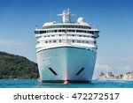 big white ship | Shutterstock . vector #472272517