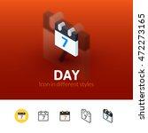 day color icon  vector symbol...