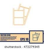 camera roll icon | Shutterstock .eps vector #472279345