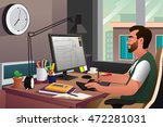 a vector illustration of... | Shutterstock .eps vector #472281031