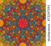 seamless decorative pattern.... | Shutterstock .eps vector #472297591