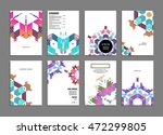 annual report brochure template ... | Shutterstock .eps vector #472299805