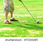golfer | Shutterstock . vector #47233285