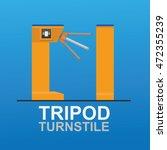 Tripod Turnstile For Entrance...