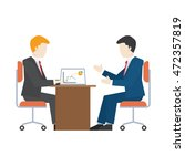 business people illustration.... | Shutterstock .eps vector #472357819