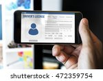 international driver's license... | Shutterstock . vector #472359754