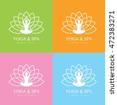 yoga logo | Shutterstock .eps vector #472383271