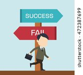 heading for success | Shutterstock .eps vector #472387699
