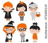 set of cartoon characters for... | Shutterstock .eps vector #472400119