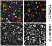 set of background food pattern.... | Shutterstock .eps vector #472402021