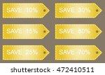 discount labels.   Shutterstock . vector #472410511