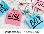 handmade greeting garland for...   Shutterstock . vector #472413739