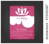 beauty saloon or spa   wellness ... | Shutterstock .eps vector #472432387