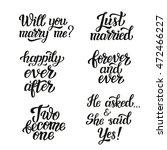 hand lettering typography... | Shutterstock .eps vector #472466227